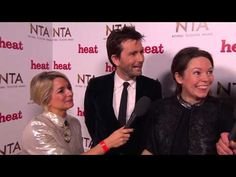 VIDEO: David Tennant & Olivia Colman Backstage At The NTAs