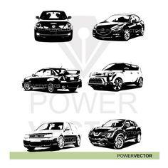 Cars Vector Impreza Juke Beetle Golf Soul by PowerVector Lexus 350, Hyundai Veloster, Car Vector, Stock Illustrations, Nissan Rogue, Mazda 6, Audi Tt, Impreza, Dodge Charger