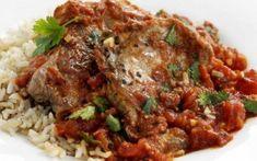 Μπριζολάκια με πικάντικη σάλτσα και ρύζι μπασμάτι Meatloaf, Beef, Food, Meat, Essen, Meals, Yemek, Eten, Steak