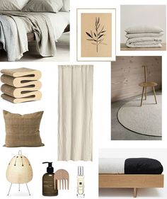 T.D.C: Creating a Bedroom Haven with White Walls + Warm Neutrals
