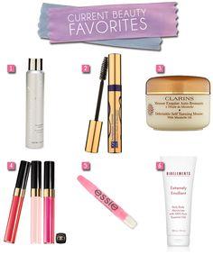 Current #Beauty Favorites    #makeup