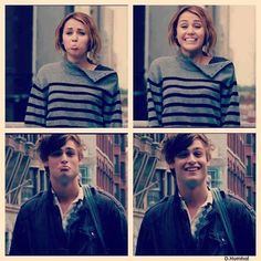 "Miley Cyrus and Douglas Booth portray the characters of Lola and Kyle respectively in the movie ""LOL"".......<3 them."