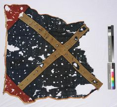 NC battle flags | Image of 1862 flag with St. Andrews Cross, NC Museum of History #cw150 ...