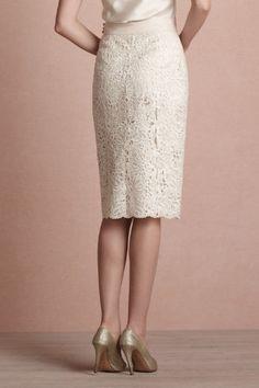 English Embroidery Skirt