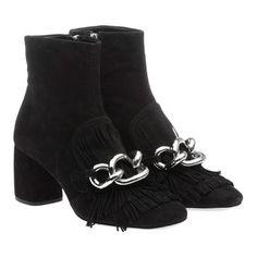 Miu Miu - Ankle Boots - Black - France - 5T761A_3C36_F0002_F_065