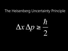 Heisenberg realized it was impossible to know properties of a particle, position of an electron, but not its momentum and vice versa. Niels Bohr: discovery that helps to explain Heisenberg's principle. Bohr found electron has qualities of both a particle Theoretical Physics, Physics And Mathematics, Quantum Physics, Physics Laws, Physics 101, Physics Courses, Heisenberg, Physics Formulas, E Mc2