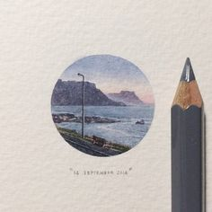 Lorraine Loots, Postcards for Ants Series. 14 September 2014, day 257