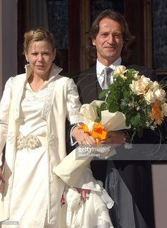 "The wedding of Princess Kalina of Bulgaria, Duchess of Saxony, and Antonio ""Kitín"" Muñoz y Valcárcel October 26, 2002 in Borovets, Bulgaria"