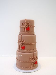 8 Valentines Cakes projects @Jessica Moncada