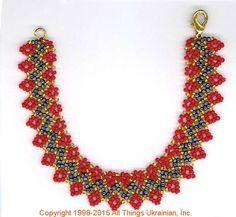 AllThingsUkrainian.com gherdany Bead Jewelry # GBR1549