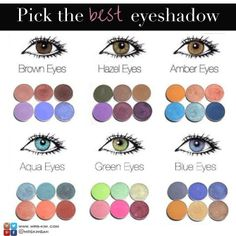 ★MAKEUP TIPS★ Pick the best eyeshadow colors for your eyes.  #mrskimbah #Bahrain #Kuwait #UAE #KSA #Qatar #Oman #brands #shopping #photooftheday #onlineshopping #GCC #ecommerce #musthaves #makeup #beauty #instamakeup #beautyproducts #beautytips #beautywants #makeupaddict   #makeuptips