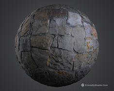 Friendly Shade - Cobblestone Wall Preview, Sebastian Zapata on ArtStation at https://www.artstation.com/artwork/e5naP