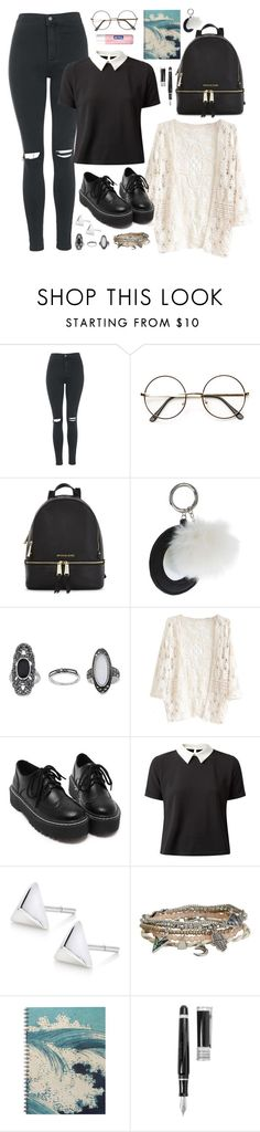 """School date with Heojun"" by berrie95 on Polyvore featuring Topshop, Michael Kors, Cameo Rose, Aéropostale, Stipula, Nivea, MADTOWN and heojun"