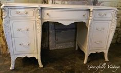 Beautiful Ornate Desk-