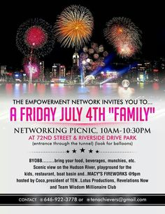 July 4th Networking Picnic