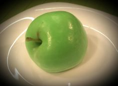 Mydło glicerynowe Jabłko Glycerine Soap  Apple  handmade Funny Gadget
