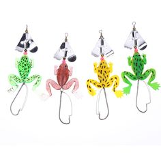 Cheap frog fishing lure, Buy Quality fishing lure set directly from China spoon lure Suppliers: frogs Fishing Lure Set Rubber Soft Fishing Lures Bass Spinner Bait spoon Lures carp fishing tackle carbon steel hook Frog Fishing Lure, Fishing Bait, Fishing Tackle, Bass, Live Bait, Soft Plastic, Decorative Bells, Cool Things To Buy, Shapes
