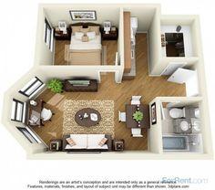 14 W. Elm Apartments Printers Row neighborhood; 1B options starting at $1170
