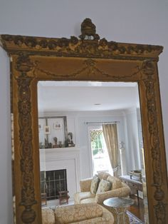 Chateau Chic - French Style Ornate Mirror