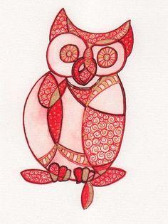 owl by Kim Barrett
