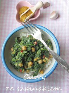 Curry - szpinak