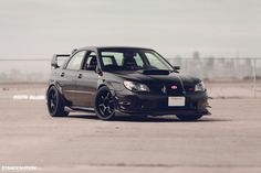 Wide Fast Subaru STI Bay Area (18) can rock the four door clean like!