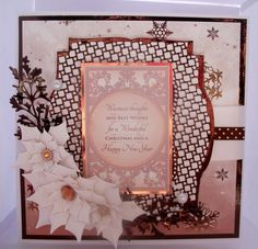 Hunkydory Christmas Craftinator 15 with Tonic and spellbinder dies