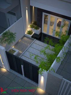 2 Storey House Design, Duplex House Design, House Front Design, Small House Design, Dream Home Design, Modern Exterior House Designs, Modern House Design, Exterior Design, House Construction Plan
