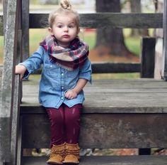 The trendiest accessory for fall packed in one tiny package! Share the look of your favorite plaid with Toddler Infinity Blanket Scarves. The perfect addition to your little one's wardrobe!