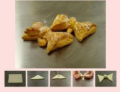how to do a bow tie pastry