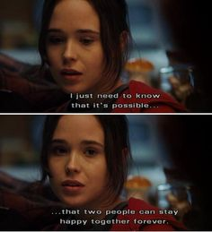 cute movie quotes | juno movie quotes love quotes cute real shit love