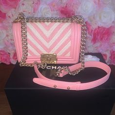 Chanel Boy Bag 2016 Chanel Boy Bag CHANEL Bags Shoulder Bags Chanel Boy Bag, Chanel Bags, Fashion Tips, Fashion Trends, Shoulder Bags, My Favorite Things, Boys, Pink, Things To Sell