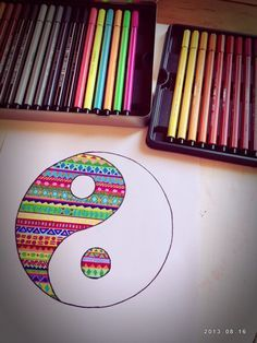 zentangle art color - Buscar con Google #zen