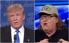Michael Moore has his money on Trump after first debate; his warning to 'Hillary gloaters' . . .
