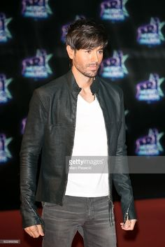 Singer Enrique Iglesias attends the 18th NRJ Music Awards at Palais des Festivals on November 12, 2016 in Cannes, France.