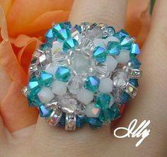 Pattern bijoux: RONDELLE STRASS