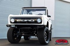 Ford Bronco Custom Grill