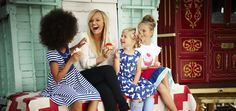 Shoot production and art direction of Emma Bunton's new kidswear range for Argos