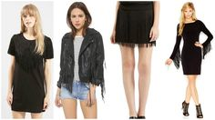 how to wear fringe that's more glam and less western!