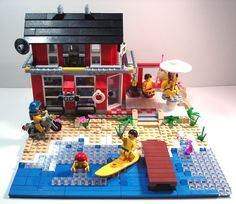 Cool LEGO Houses | Ultimate Beach Lego | Simply Beach Blog