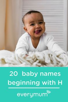 20 Heavenly Baby Names Beginning With The Letter H. From Heidi to Harper and Harry to Hunter, each name is cuter than the last and the choices are sure to satisfy even the most discerning tastes. Make sure to let us know your favourit Celtic Baby Names, Irish Baby Names, Rare Baby Names, Unusual Baby Names, Popular Baby Names, Celebrity Baby Pictures, Celebrity Baby Names, Celebrity Babies, H Boy Names