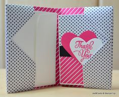 Thank You Card Wallet