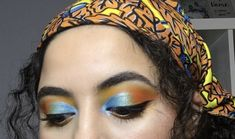 Blue Eyeshadow Looks, Cool Makeup Looks, Best Makeup Products, Halloween Face Makeup, Blue Eyeshadow