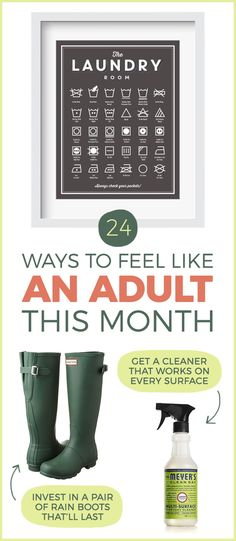 24 Ways To Adult Better This Month