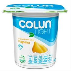Yoghurt Colun light papaya, 125 g - telemercados
