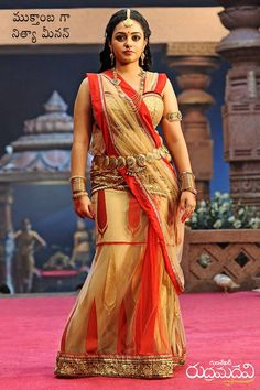 Nithya Menon Stills from Rudhramadevi - Telugu Actress Photos Beautiful Girl In India, Beautiful Girl Image, Beautiful Saree, Most Beautiful Women, Beautiful Bollywood Actress, Most Beautiful Indian Actress, Beautiful Actresses, Beauty Full Girl, Beauty Women