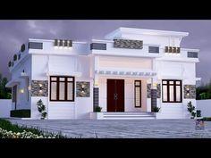 House Balcony Design, 4 Bedroom House Designs, House Arch Design, Single Floor House Design, Architect Design House, Modern Small House Design, House Outside Design, Kerala House Design, Home Building Design