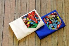 Marvel Superheroes PocketTee by LemonSourStop on Etsy, $16.00