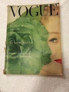 Feb 15 1953 Vogue RARE Vintage Fashion Design Collection Magazine   eBay