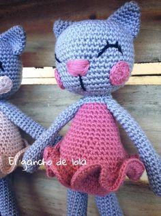 #elganchodelola #hechoamano #amigurumi #crochet #gatita